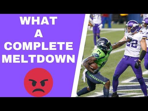 Minnesota Vikings MELTDOWN against the Seattle Seahawks – Vent Line