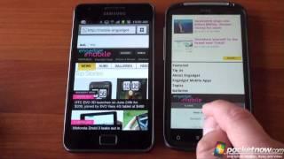 Galaxy S 2 vs. HTC Sensation