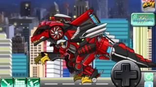 Мультик игра Роботы динозавры: Т-Рекс на шоссе (T-rex the highway)