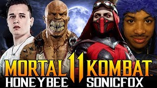 Mortal Kombat 11 - SonicFox Vs HoneyBee | High Level Matches!!