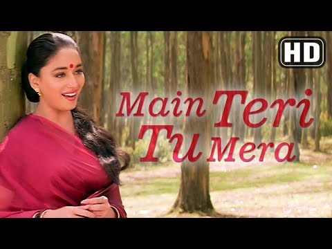 Sajna Main Teri Tu Mera (HD) - Beta Songs - Anil Kapoor - Madhuri Dixit - Romantic Song - Filmigaane