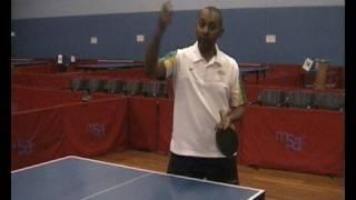 Forehand Smash - Table Tennis