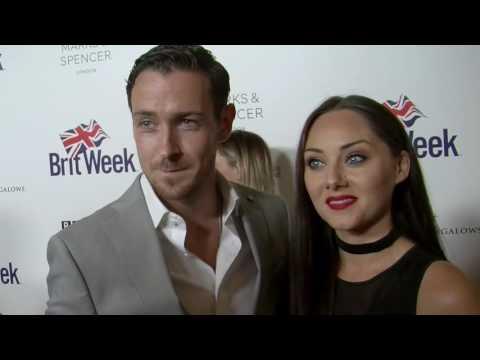 Jack Lowe & Audrey Hamilton   2016 BritWeek   The Irish HAMLET!