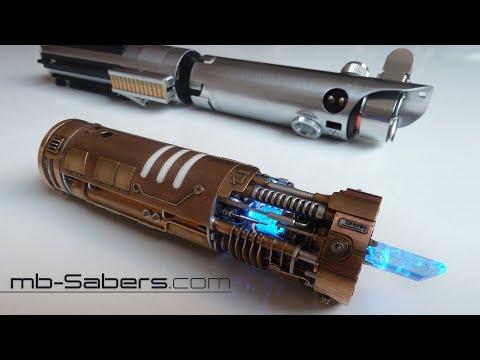 Esta réplica de un sable láser de 'Star Wars' es la más alucinante que existe