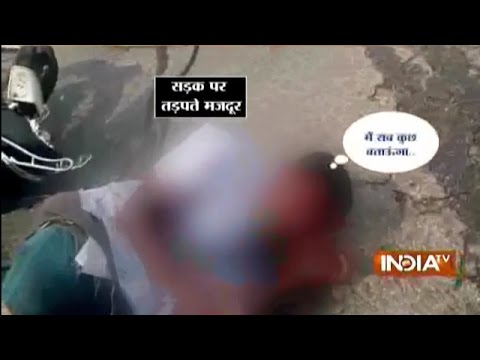 Caught on Camera: Accident Victims Die, Nobody Came For Help in Karnataka