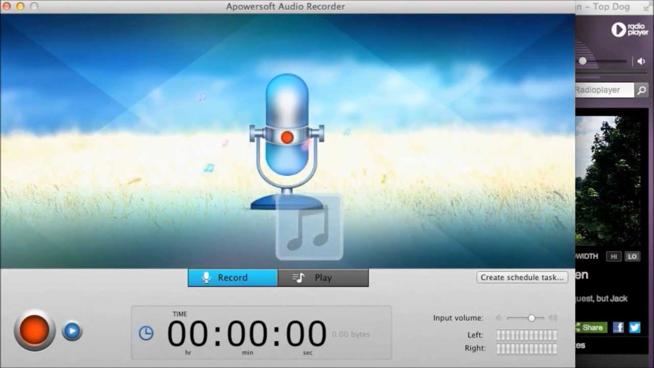 Apowersoft Audio Recorder 2.3.7 Cracked Serial For Mac OS X