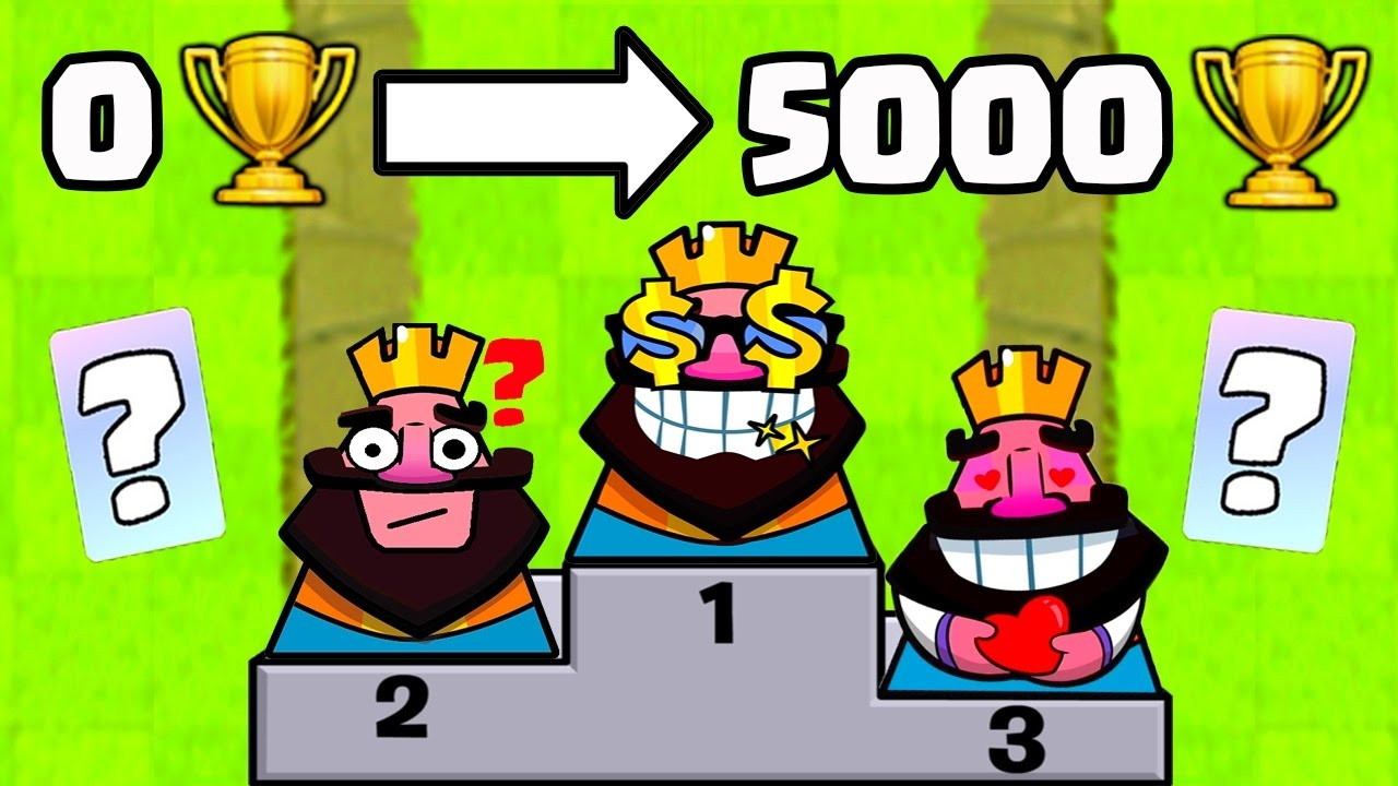 Clash royale top 3 meilleur deck rush mars 2017 for Clash royale meilleur deck arene 7