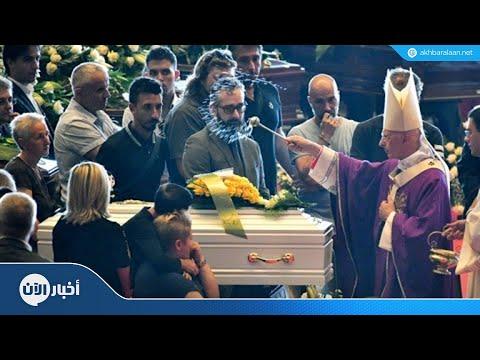 السلطات الإيطالية تنظم جنازة رسمية لضحايا حادث الجسر  - نشر قبل 6 ساعة