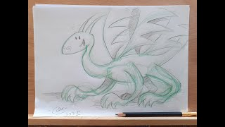 How to Draw a Dragon!