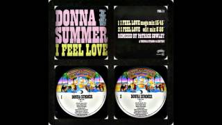 DONNA SUMMER - I FEEL LOVE (PATRICK COWLEY MEGA-MIX, MEGA EDIT 1982)