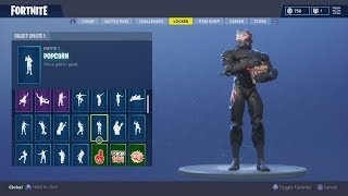 "LEVEL 55 ""OMEGA"" Skin Showcase 30+ Dances & Emotes (Fortnite Battle Royale)"