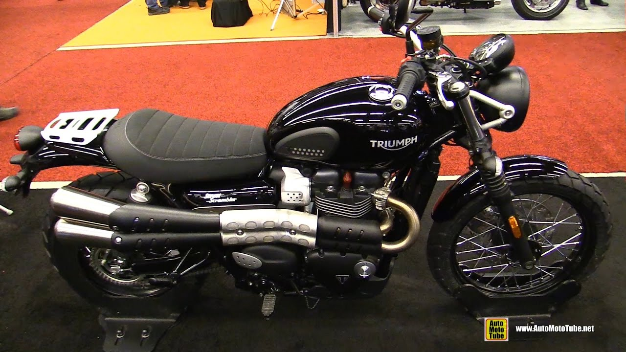 2017 triumph street scrambler 900 walkaround 2017 montreal motorcycle show youtube. Black Bedroom Furniture Sets. Home Design Ideas
