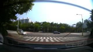 지넷 gi700 후방 카메라 화질(주간)