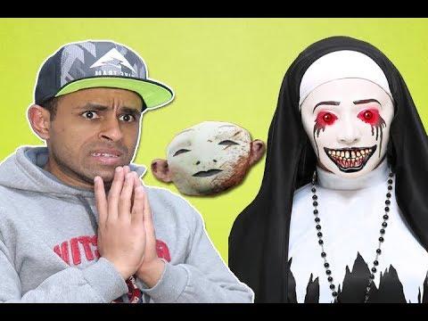 لغز القناع نينة الشريرة evil nun