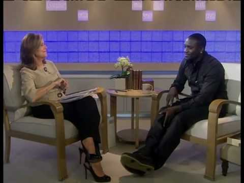 Akon on the Today Show