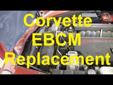 C6 Corvette Brake Control Module (EBCM) Replacement