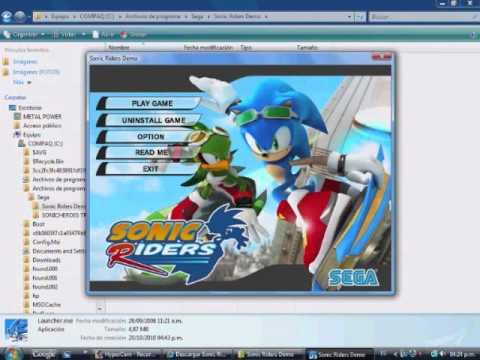 Tutorial:como Descargar El Demo De Sonic Riders HD Loquendo