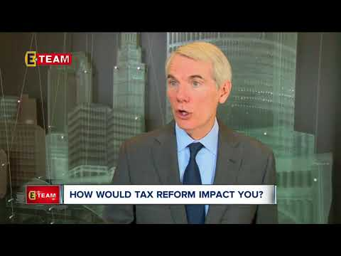 Ohio Sen. Rob Portman talks tax reform