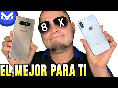 Download Youtube: iPhone X vs Note 8 COMPARACION TOTAL CUAL ROMPE ?