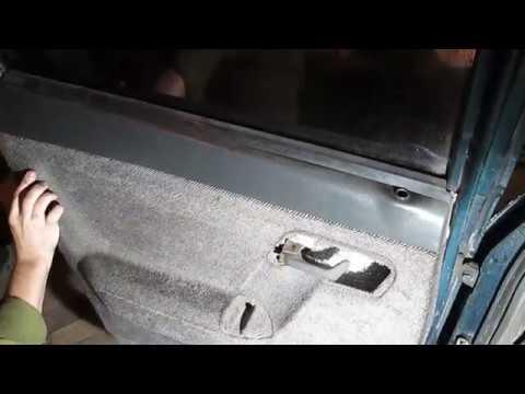 Видео: Снятие Установка Стекла Задней Двери ВАЗ 2110