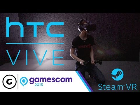 The HTC Vive Demo is Seriously Incredible