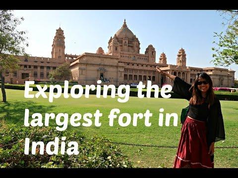India travel vlog5   Exploring Jodhpur market and the fort