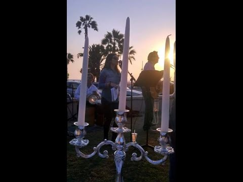 Stunning Shabbat at the Shore in Santa Monica