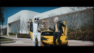 Смотреть клип Marshmello & Logic - Everyday