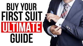 Look FLAWLESS In Suits | The Ultimate Guide To Buying Your First Suit