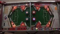 Fussball Europa Flipper (Automatenbau Förster, Fürth, 1967). Head-To-Head Pinball Machine - Gameplay