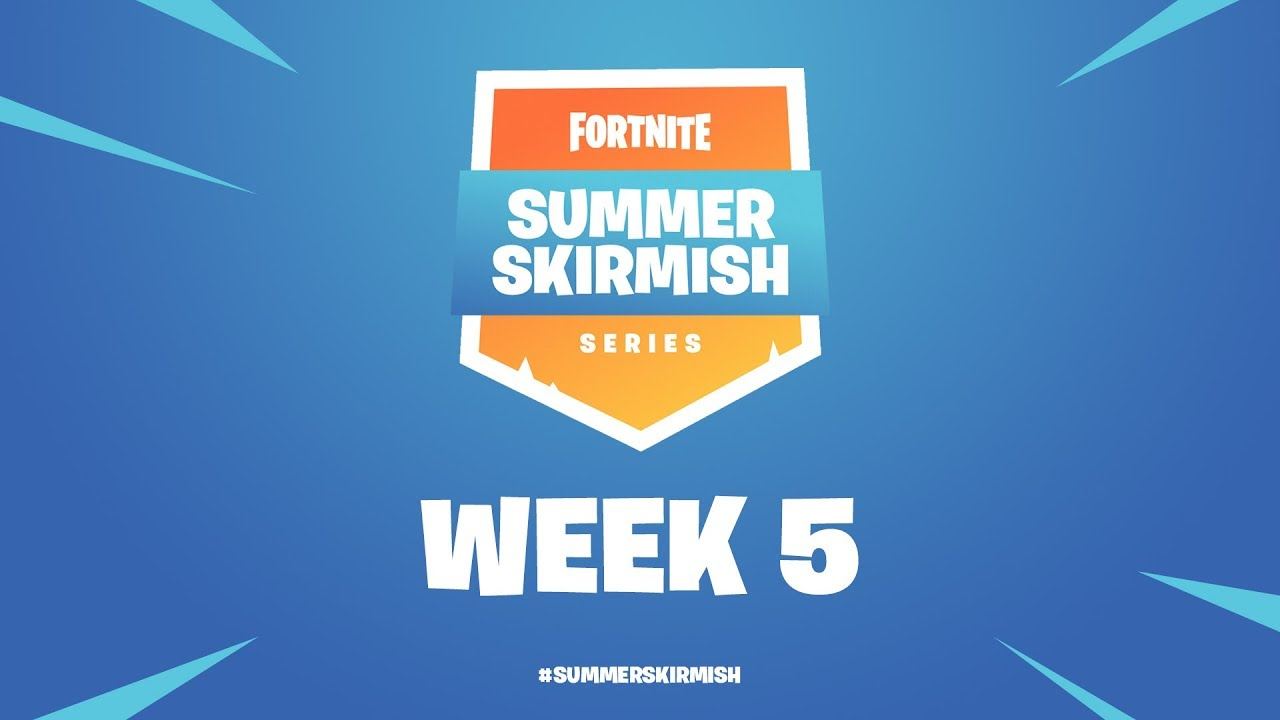 fortnite summer skirmish series week 5 day 2 - fortnite summer smash teams