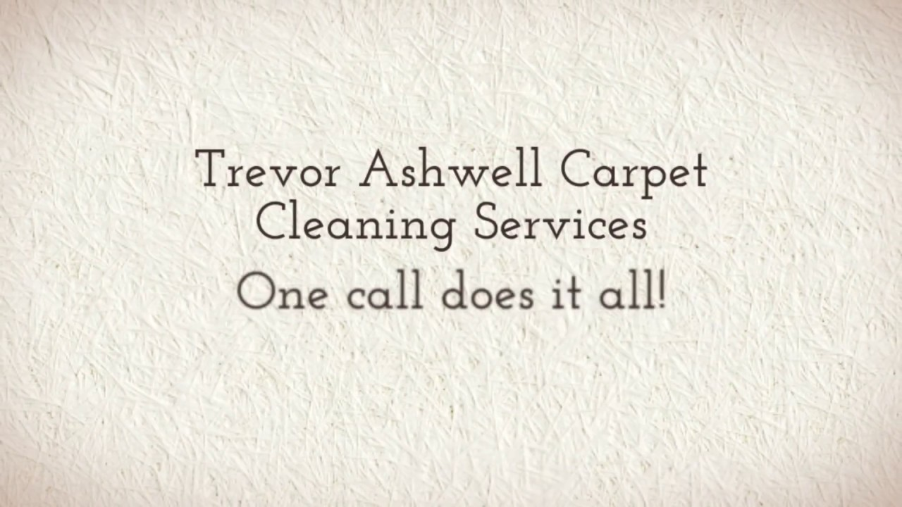 Trevor Ashwell Carpet Cleaning Services - Townsville