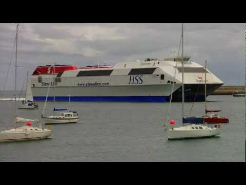 The World's Largest Fast Ferry - Stena HSS Explorer