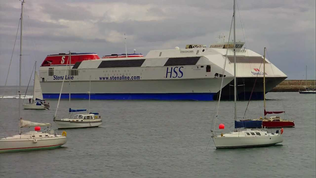 The World's Largest Fast Ferry - Stena HSS Explorer - YouTube