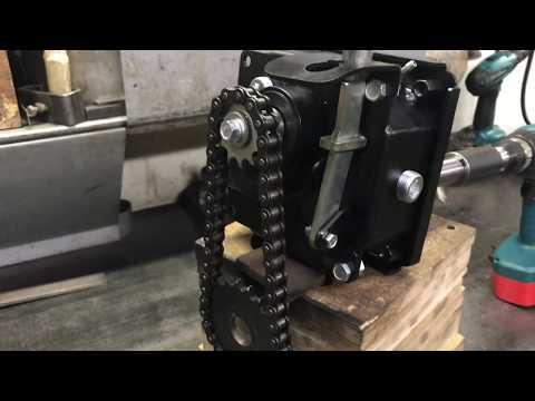 Реверс редуктор до 25 л/с для малой техники