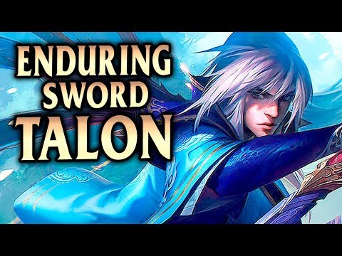 New Enduring Sword Talon Skin! How To Carry With Talon Mid Guide - League Of Legends S8