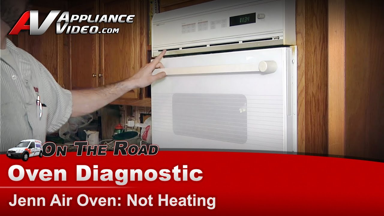 medium resolution of jenn air whirlpool maytag oven diagnostic not heating bake and broil element replacement