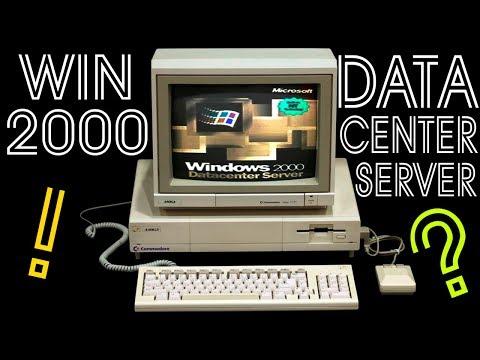 Установка Windows 2000 Datacenter Server на старый компьютер