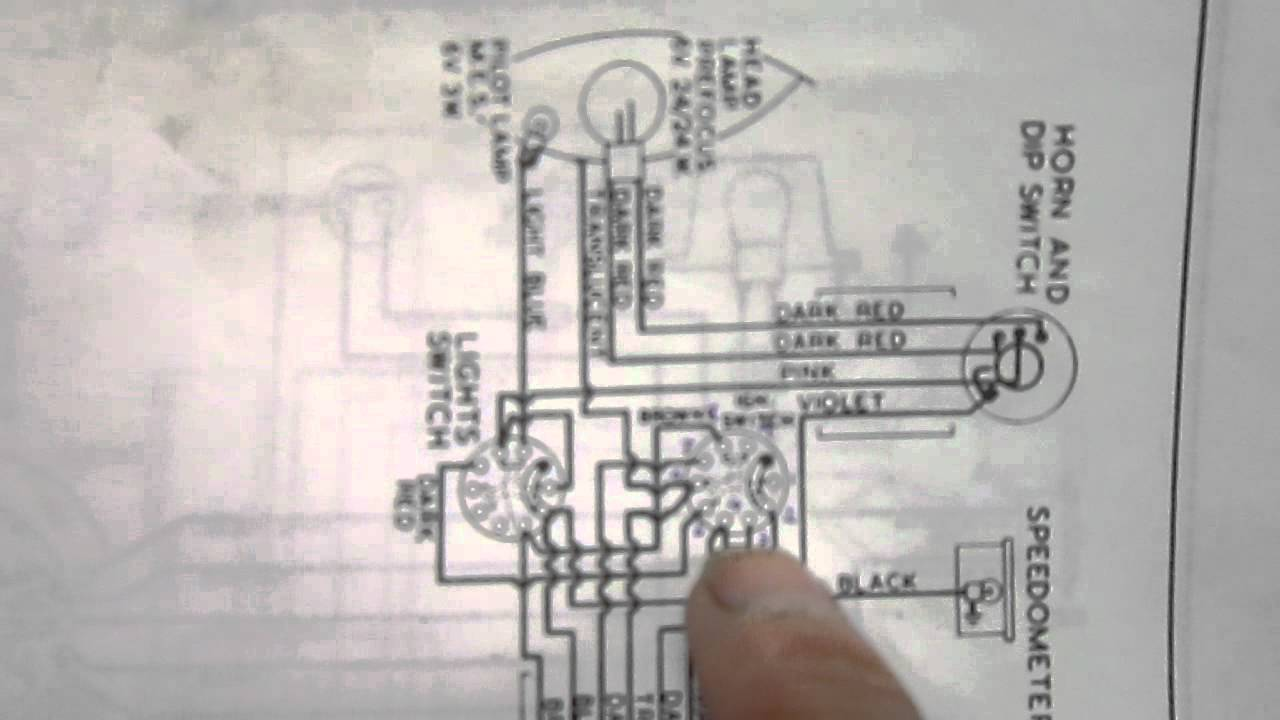 maxresdefault bsa bantam switches youtube bantam d7 wiring diagram at soozxer.org