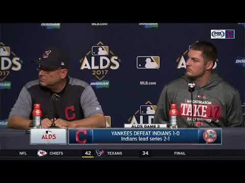 Terry Francona, Trevor Bauer postgame press conference | Indians vs. Yankees | ALDS GAME 3