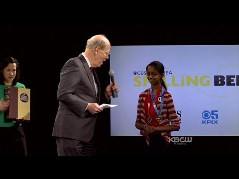 2015 CBS Bay Area Spelling Bee - Final Rounds