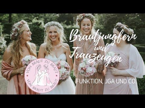 Brautjungfern, Trauzeuginnen Und Trauzeugen – Teil 1