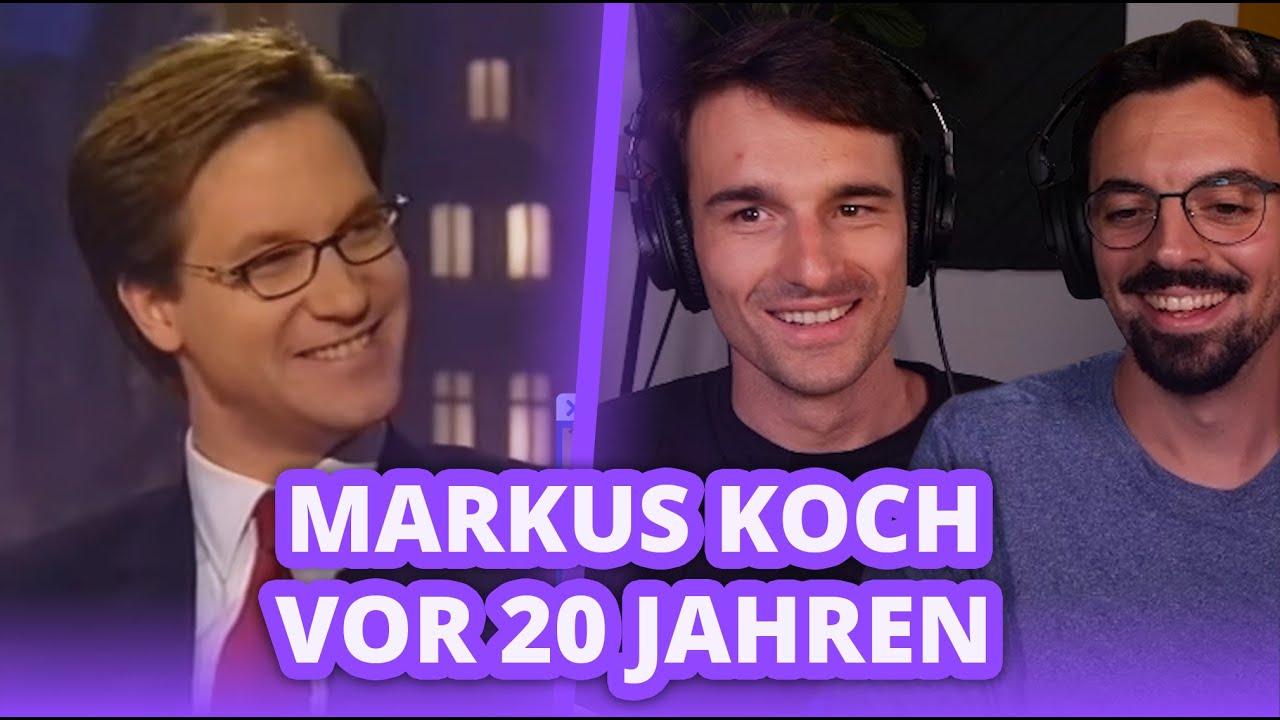 Markus Koch bei Harald Schmidt (1997) - Reaktion   Finanzfluss Twitch Highlights
