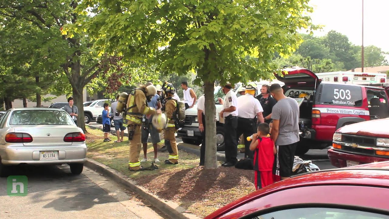 Up To 60 People Displaced In Woodbridge Va Bayvue Apartments Fire Youtube
