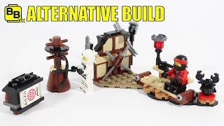 LEGO NINJAGO MOVIE 70606 ALTERNATIVE BUILD NINJA CRIB