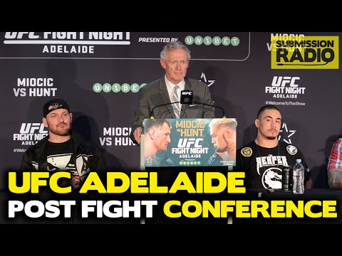 UFC Fight Night Adelaide Post fight Press Conference FULL