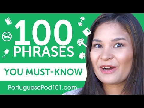 100 Phrases Every Portuguese Beginner Must-Know