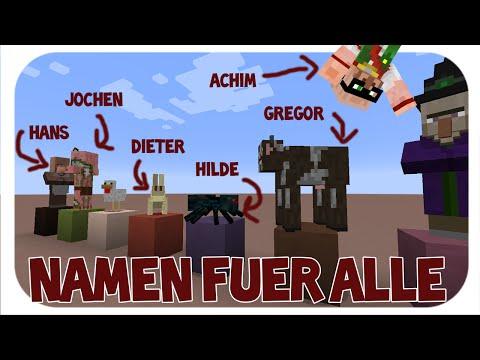 Minecraft - Namen für alle / random Name Generator [+Download]