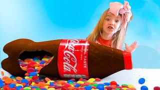 Chocolate & Soda kids stories from Nastya and Eva on Baby time kids channel.