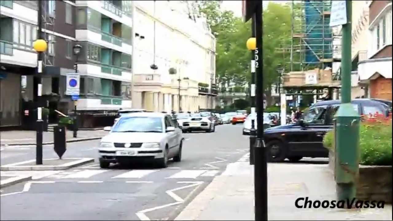 BRUTAL SOUNDS! - Lamborghini Aventador and McLaren MP4-12C Revs and Accelerations